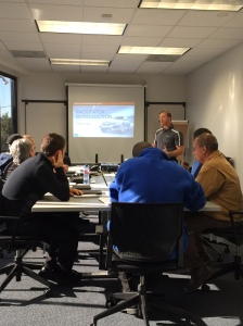 Oakland's Sales Team learning everything about the all new 2016 Civic